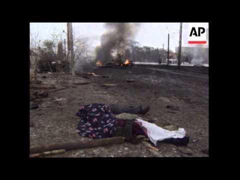 RUSSIA: CHECHNYA: BOMBING RAIDS HEAVIEST YET