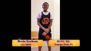 2018 Devin Graham - OPHS Basketball UNF Team Camp