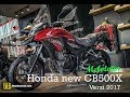 Review new Honda CB500X 2017   IWBVlog