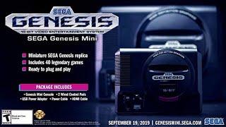 Pre Order Sega Genesis Mini - The iconic SEGA Genesis console that defined a generation of gaming
