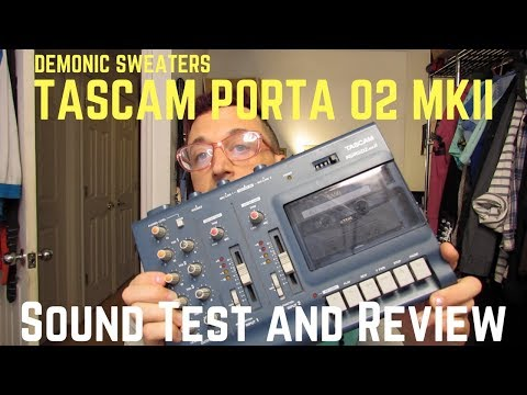 Vintage Tech Review #1 - Tascam Porta 02 MKII 4 Track Cassette Recorder