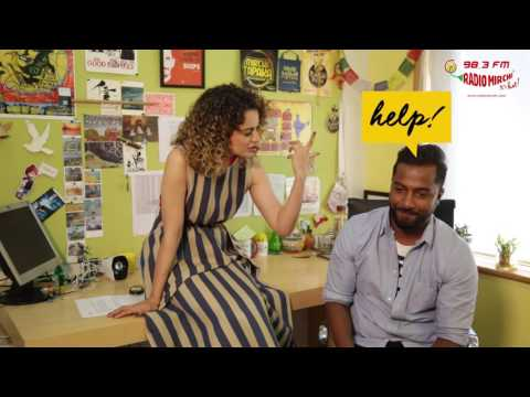 Thumbnail: Kangana Ranaut chooses between sex & sleep | Selfie 21 with RJ Suren | Rangoon