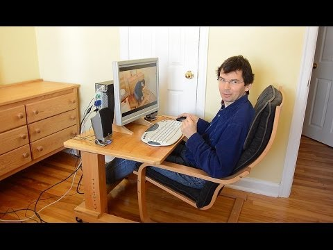 Assembling The Wheely Desk Youtube
