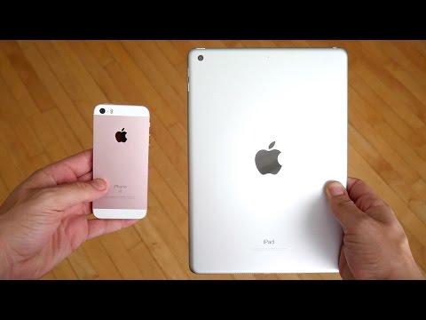 iPhone SE vs 2017 iPad!