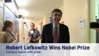 Duke Campus Reacts to Dr. Lefkowitz's Nobel Prize