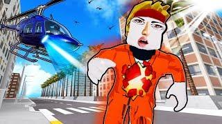 ESCAPANDO DE LA PRISIÓN. ¡¿ENTONCES TOMANDO EL CONTROL?! (Roblox Gameplay Roleplay) Roblox Jail Break Escape!