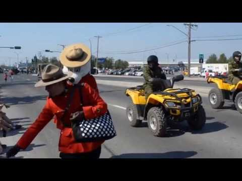 Canada Day Parade 2016 - Yellowknife NT