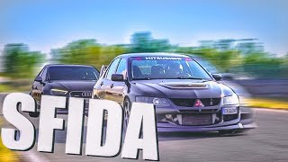 PROBLEMA FRENI! AUDI RS3 VS MITSUBISHI LANCER EVO8 | TRACK BATTLE EP3