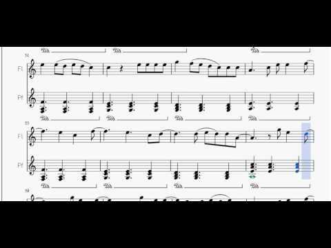 All of Me (John Legend) | Free Sheet Music for Flute and Piano