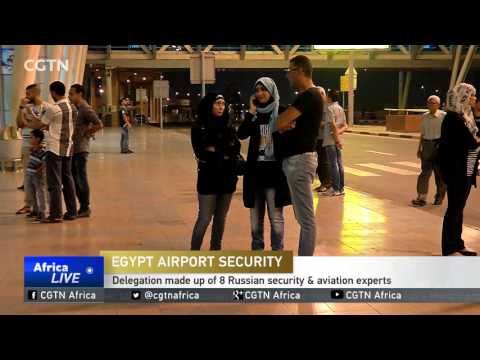 Russian delegation reviews security measures at Cairo airport