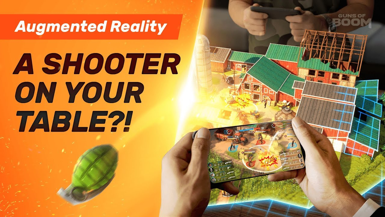 Guns of Boom - Augmented Reality Spectator Mode Trailer