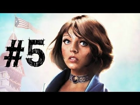 Bioshock Infinite Gameplay Walkthrough Part 5 - Elizabeth - Chapter 5