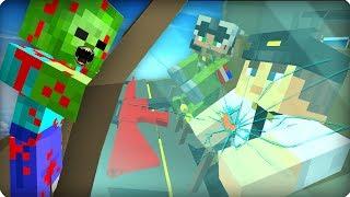 Аварийная посадка самолета [ЧАСТЬ 10] Зомби апокалипсис в майнкрафт! - (Minecraft - Сериал)