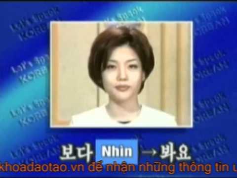 Cùng học tiếng Hàn Quốc bai 27 P1