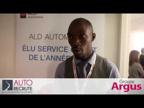 ALD Automotive au Salon de l emploi Automobile   interview d Arnold Kouamé
