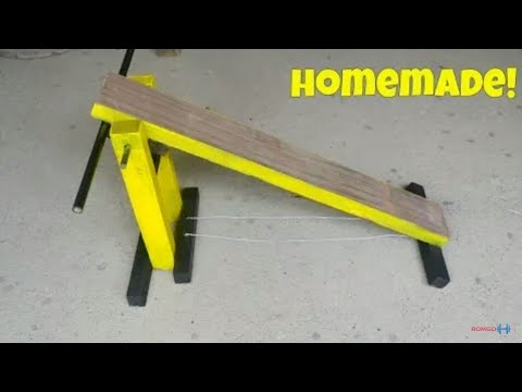 How To Build A Gym Decline Bench Press At Home Diy A