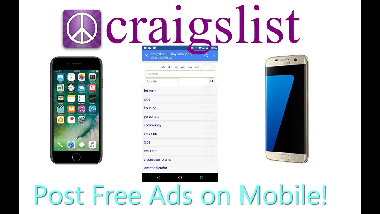 How to Post Ads On Craigslist With Your Phone (Mobile ...