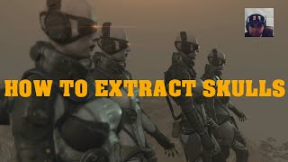 METAL GEAR SOLID 5 HOW TO EXTRACT SKULLS Read Description OLD VIDEO