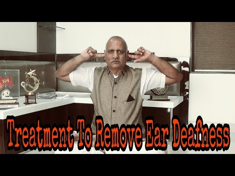Treatment To Remove Ear Deafness || Ear Problem Solution || Yoga || Parasmal Dugad