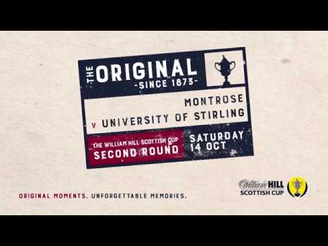 Montrose 4-1 University of Stirling | William Hill Scottish Cup 2017-18 – Second Round