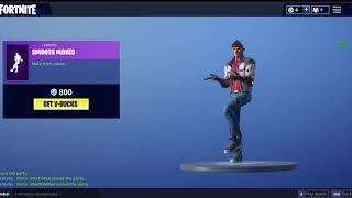 new smooth moves emote/fortnite item shop october the 1
