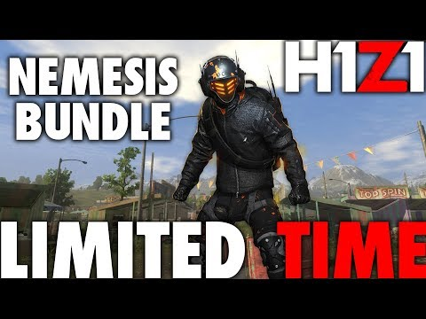 H1Z1 PS4 NEMESIS PREORDER BUNDLE IS ONLY FOR A LIMITED TIME | LIMITED EDITION SKINS