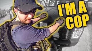 Police SNIPER makes 300+ FT Shots!
