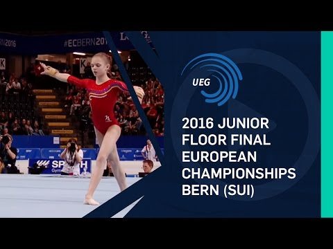 2016 Junior Floor final European Championships - Bern (SUI)