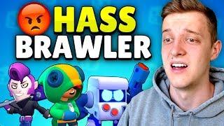 TOP 10 MEIST GEHASSTE BRAWLER! 👿 | Brawl Stars deutsch