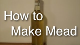 How to Brew Simple Mead at Home ( Honey Wine) with Cinnamon Clove Easy and Simple