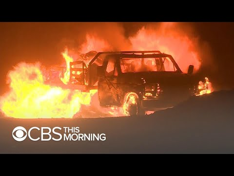 Devastating California wildfires kill several people