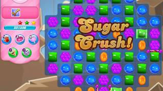 Candy Crush Saga Level 4387 (3 stars, No boosters)
