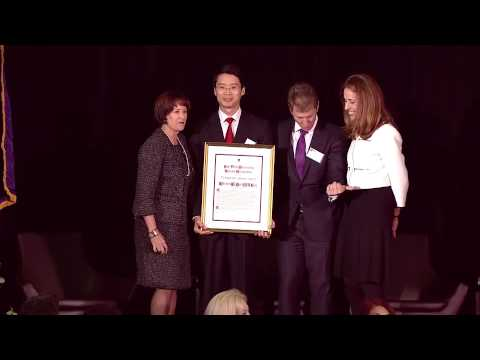 NYU 2014 Distinguished Alumni Awards Winston Wenyan Ma Speech