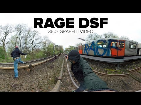 (360º Graffiti Video) - RAGE DSF