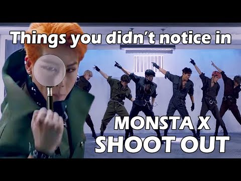 Things you didn't notice in MONSTA X - Shoot Out