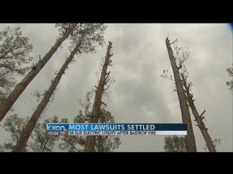 Settlement reached in suits following 2011 Bastrop fires