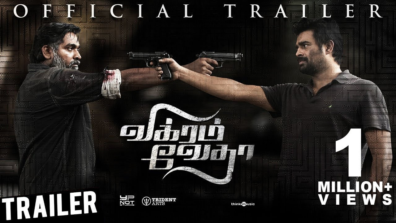 Vikram Vedha Official Trailer   R.Madhavan, Vijay Sethupathi   Sam C.S   Pushkar & Gayatri