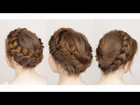 3 ways to do a Crown Braid
