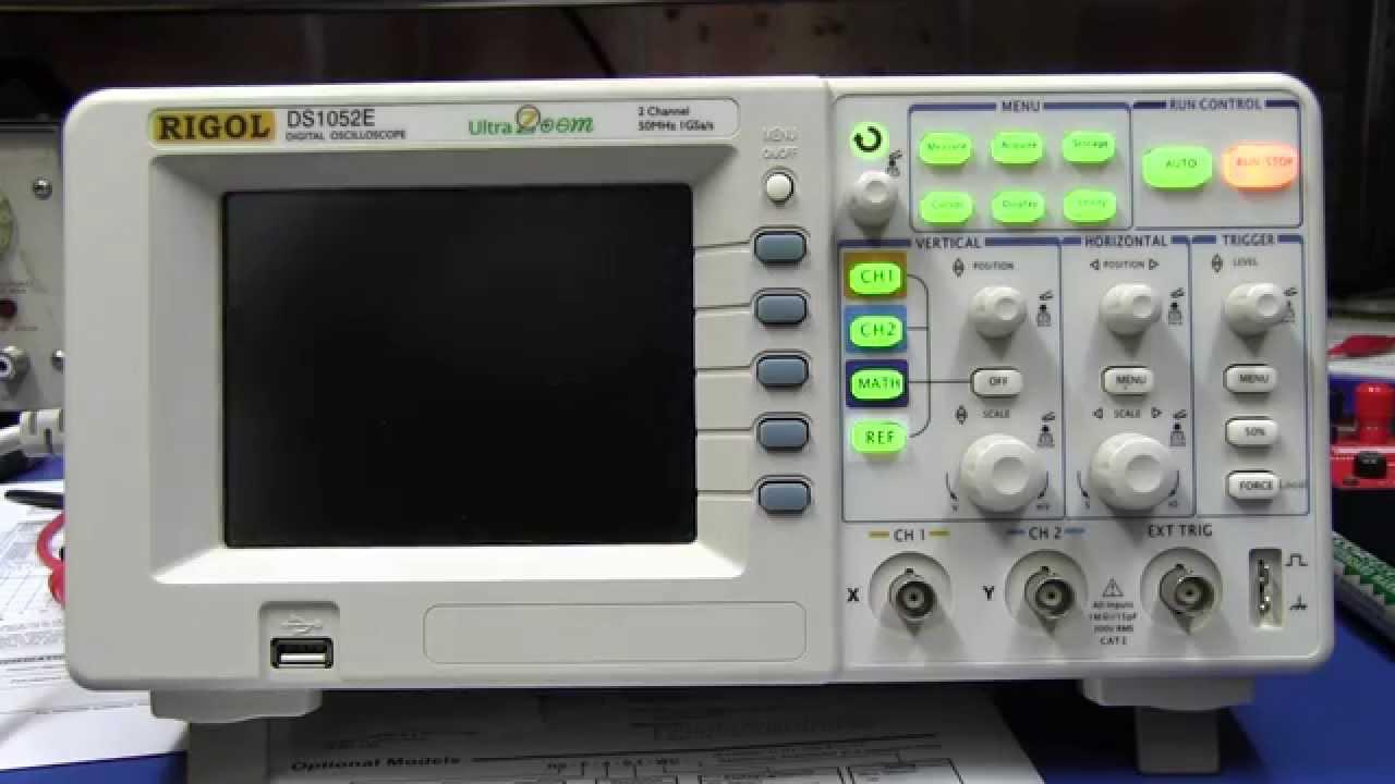 Coolest Rigol DS1052E Firmware Ever!