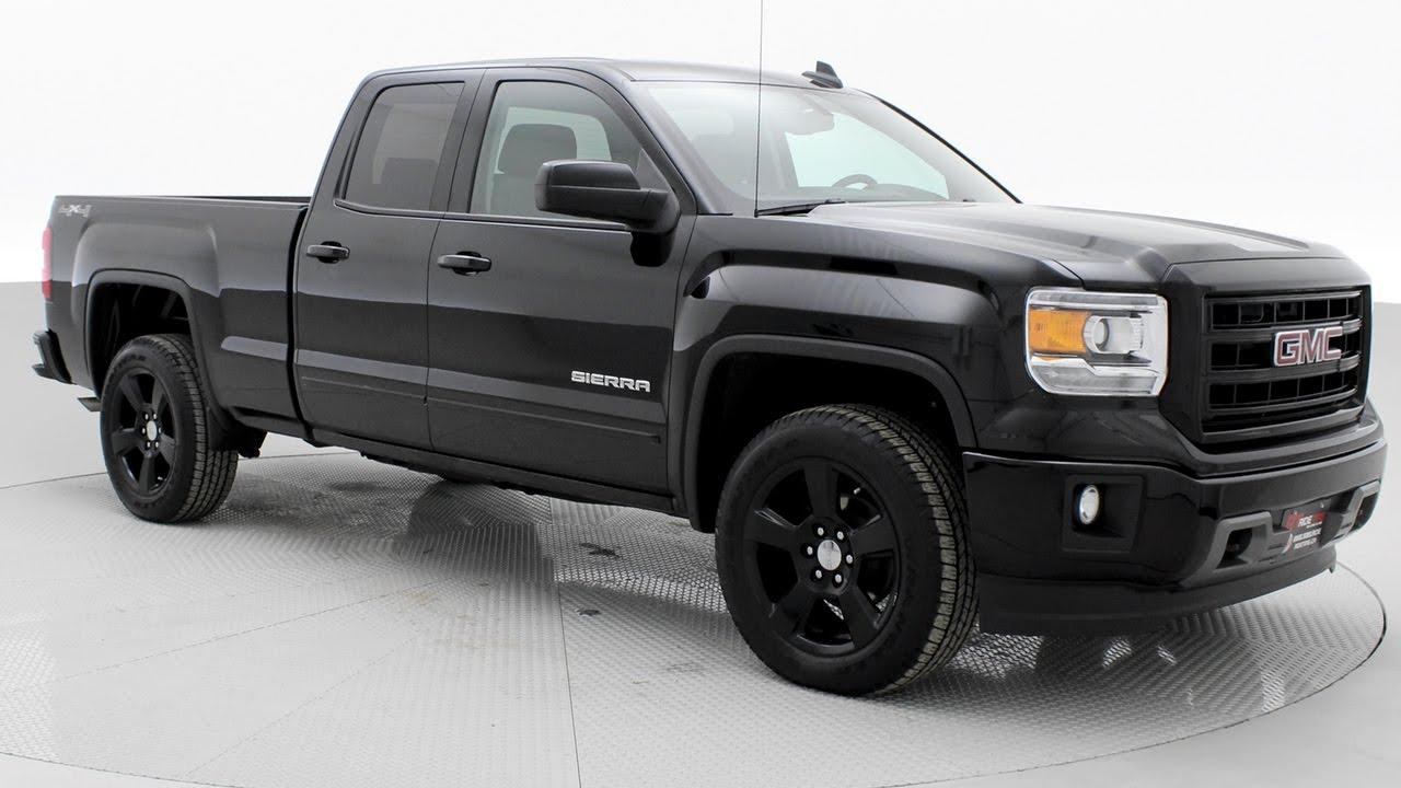 2017 Gmc Sierra 1500 Blackout Nicest Used Trucks In Winnipeg Ridetime Ca
