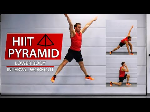 HIIT Pyramid Lower Body (English)