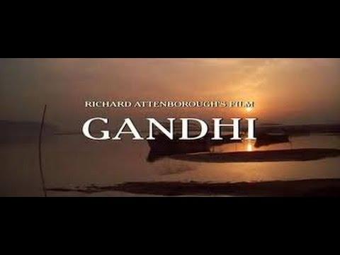 GANDHI (1982) Trailer Italiano