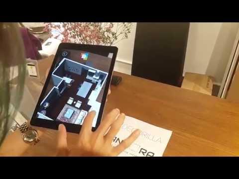 Interior design Augmented Reality