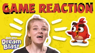 Angry Birds Game Reaction | Getting started in Angry Birds Dream Blast!