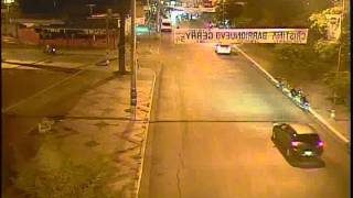 Accidente de Moto en Palpalá captado por camara de Video Vigilancia.flv