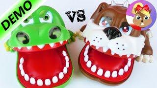 CROCO-DOC vs. BITING BULLDOG! | Który ugryzie szybciej? | Baw się ze mną