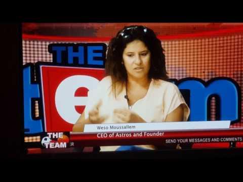 Interveiw  on etv Astros academy ghana
