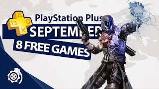PlayStation Plus (PS+) September 2018