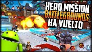 REVIVE EL FENIX :v - Hero Mission Nueva APK Beta - Juego Estilo Overwatch con Battle royale Android