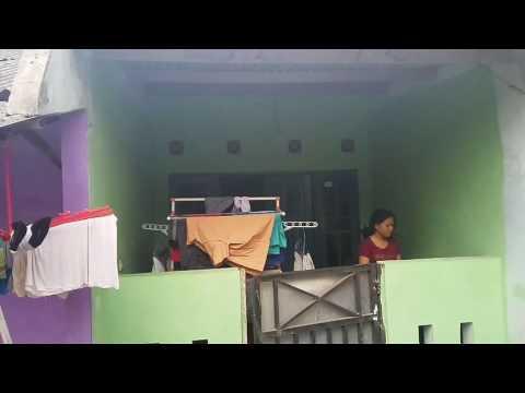 Rumah kontrakan ibu Faisal Amir di depok, ayah yg bunuh bayinya sendiri